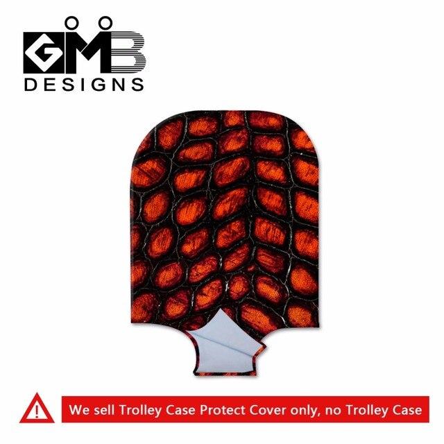 Персонализированные чехол для багажа Прозрачная водонепроницаемая камера охватывает для мужчины женщины защитный охватывает чемодан багажа защитные девушка