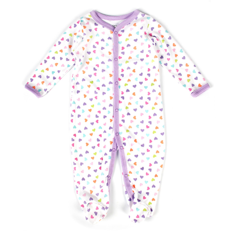 Newborn Clothes Baby Romper Long-Sleeve Cotton Jumpsuit Baby Girl Costume Rompers Spring Autumn Trouser Suit Jumpsuits Clothing branded new quality cotton newborn baby girl clothing clothes romper creepers jumpsuits ropa bebe baby girls rompers long sleeve