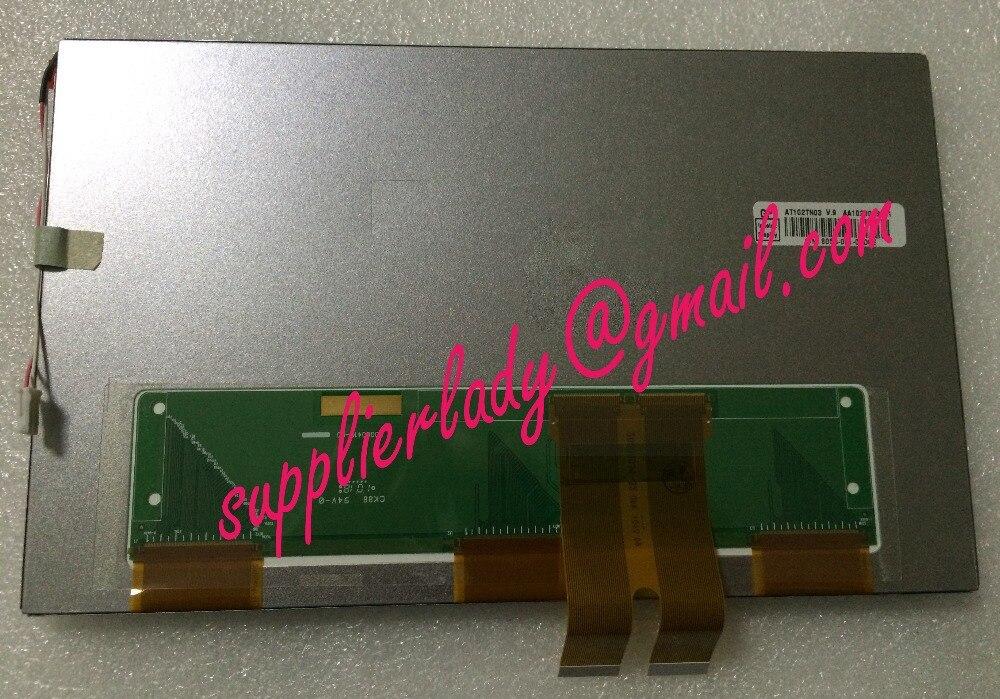 Original and New 10.2inch LCD screen AT102TN03 V.9 AT102TN03 V9 for Car DVD navigation industrial screen free shipping