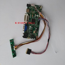 Kit para B140XW01 V2 1366X768 LCD Panel LED controlador de pantalla de 14 «LVDS 40pin DIY 2019 conductor DVI de Audio VGA HDMI