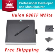 Promotion HUION New 680TF 8″ 220RPS Digital Graphic Pen Tablets Professional Signature Pad With MicroSD Card Kids Drawing Boards