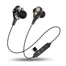 Bluetooth Earphone Wireless Bluetooth Headset dengan 4 Speaker Double Cincin Bergerak 6D Surround Earphone untuk Xiaomi Iphone Samsung(China)