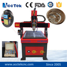 Wood tools carving CNC machine 600*900mm cnc wood AKM6090 Dust collector is option