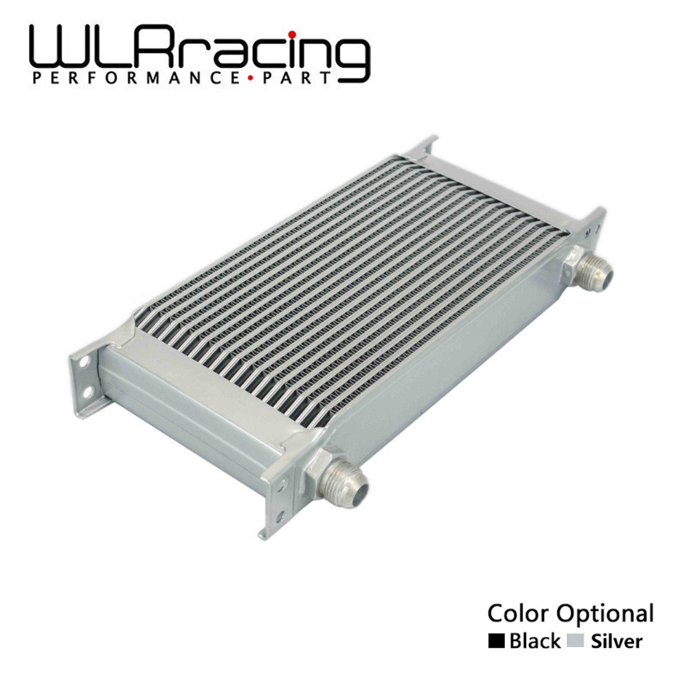 WLR RACING - 19 ROW AN-10AN UNIVERSAL ENGINE TRANSMISSION OIL COOLER WLR7019 vr racing 16 row an 10an universal engine transmission oil cooler vr7016 2