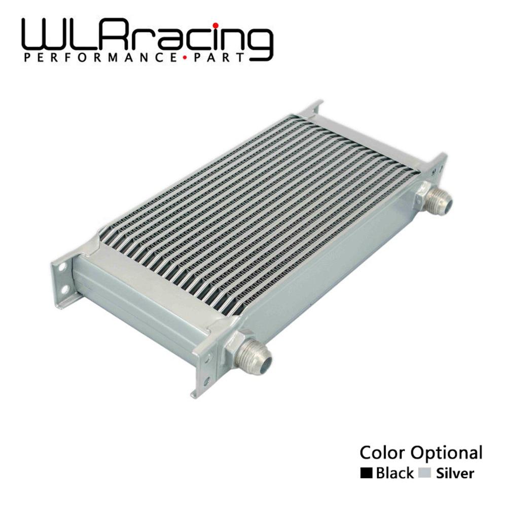 WLR RACING-enfriador de aceite de transmisión de motor UNIVERSAL de 19 filas AN-10AN WLR7019