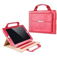 Portfolio Bag Business Briefcase For Apple IPad Pro 12 9 Tablet Accessories PU Leather Multifunction Handbag