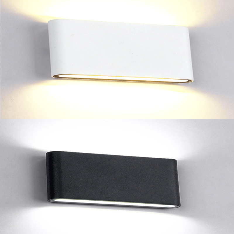 Outdoor Waterproof Wall Lamp IP65 6W/10W LED Wall Light Indoor Decoration Bedroom Beside Lamp Corridor Garden Lighting