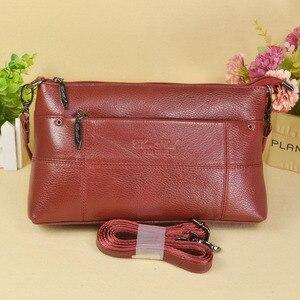 Image 1 - กระเป๋าถือสตรีกระเป๋าหนังแท้สุภาพสตรีกระเป๋า Crossbody ขนาดเล็กสำหรับหญิง Messenger กระเป๋า Bolsas