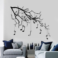 Music Quote Wall Decal MUSIC IS LIFE Vinyl Roll Sticker Inspirational Quotes Art Gift Decoration DA34
