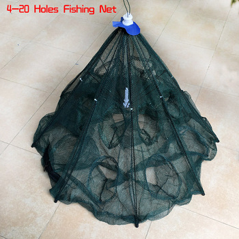 Best 4-20 Holes Automatic Folding Fishing Net Shrimp Cage Fishing Accessories cb5feb1b7314637725a2e7: 10 Sides 10 Holes|10 Sides 20 Holes|4 Sides 4 Holes|6 Sides 12 Holes|6 Sides 6 Holes|8 Sides 16 Holes|8 Sides 8 Holes