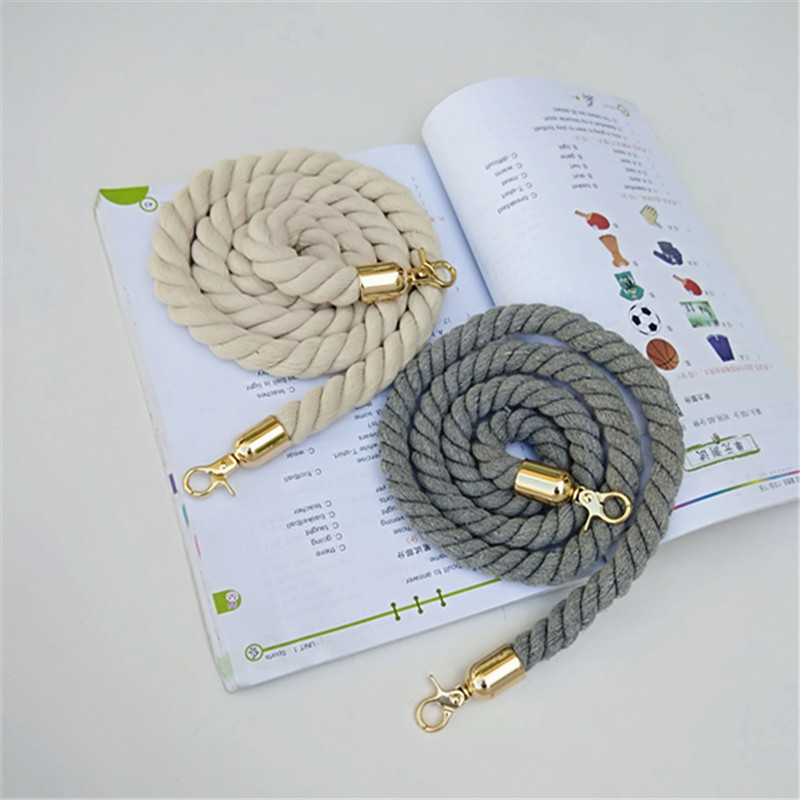 Rope Round Straps Belts Shoulder Bag Solid DIY Weave Purse Handle Ornament Handbag Accessories Replacement Metal Head For Women