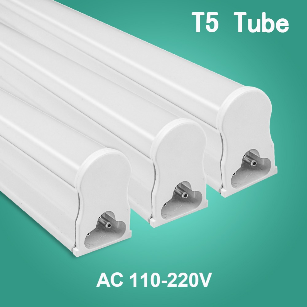 LED Tube T5 Fluorescent Bulb Light Integrated T8 Wall Lamp Lampada 30CM 60CM 1ft 2ft 6W 10W Cold Warm White 110V 220V 240V led lamp e27 led bulb 220v 230v 240v led lampada cold white 18w 24w 36w 50w cold white led light spotlight lamp free shipping