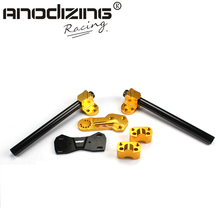 Handle Bar Lower Sport Kit Set Support Squat Drag Bike Race for Honda Grom Msx125