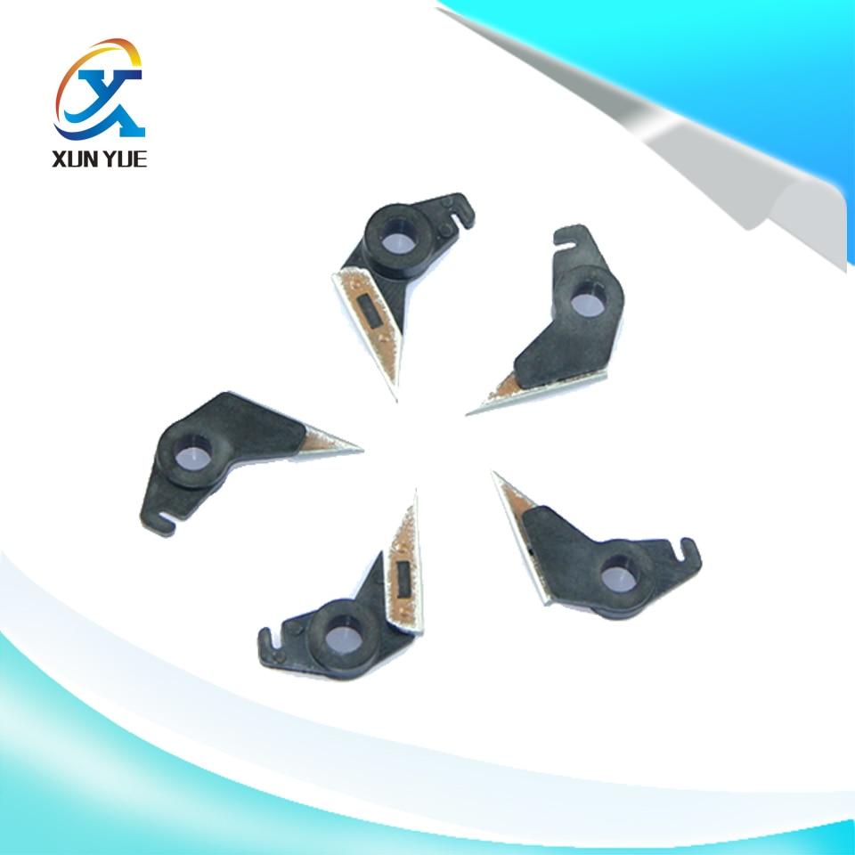 5Pcs/Set ALZENIT For Kyocera KM-4230 5230 6030 8030 OEM New Fuser Separation Claw Printer Parts On Sale for kyocera fs 6025 6030 taskalfa 255 305 oem new fuser lower roller printer parts on sale