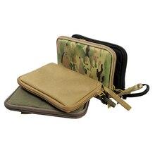 Tactical Pistol Carry Bag Portable Military Handgun Holster Pouch Pistol Hand Gun Soft Case Airsoft Pistol Case Hunting Holsters