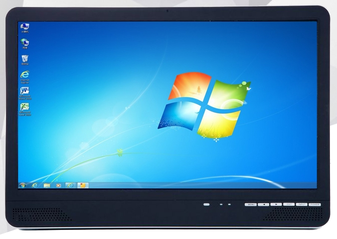 21.5 inch I3/i5/i7 all in one Electromagnetic capacitive touch screen desktop computer pc image