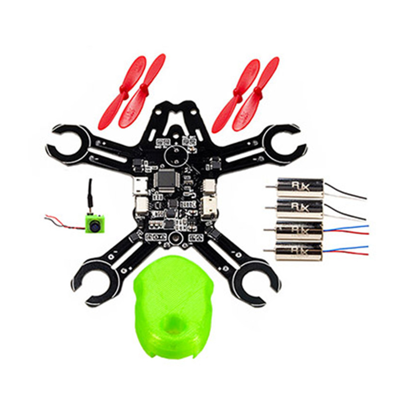 QX95 95mm 1S frame kit DIY FPV micro indoor drone FPV Racing Quadcopter drone unassembled f04305 sim900 gprs gsm development board kit quad band module for diy rc quadcopter drone fpv