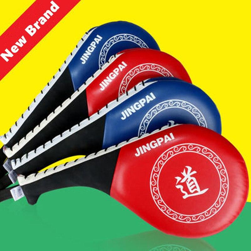 Новые Прочные Колодки Тхэквондо искусственная кожа каратэ ММА кикбоксингу Мишени для профессионального обучения 1шт 38x20x8см