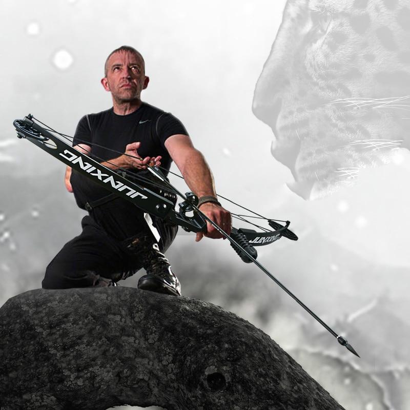 profissional arco composto 30 45 lbs junxing m183 modelo poderoso tiro com arco ao ar livre