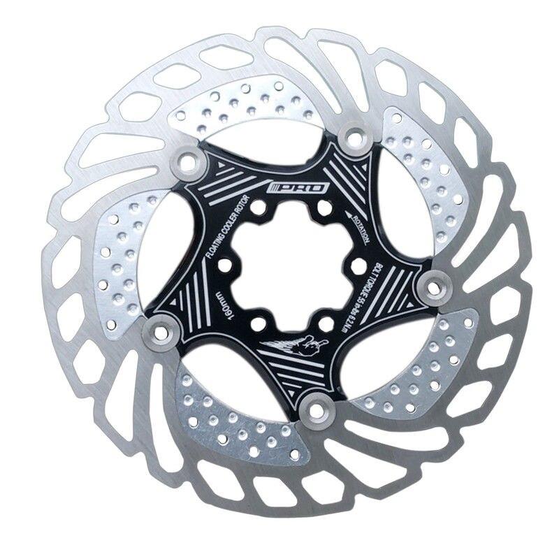 140//160//180//203mm MTB Bike Floating Disc Brake Rotor 6 Bolts Disc Rotor Caliper