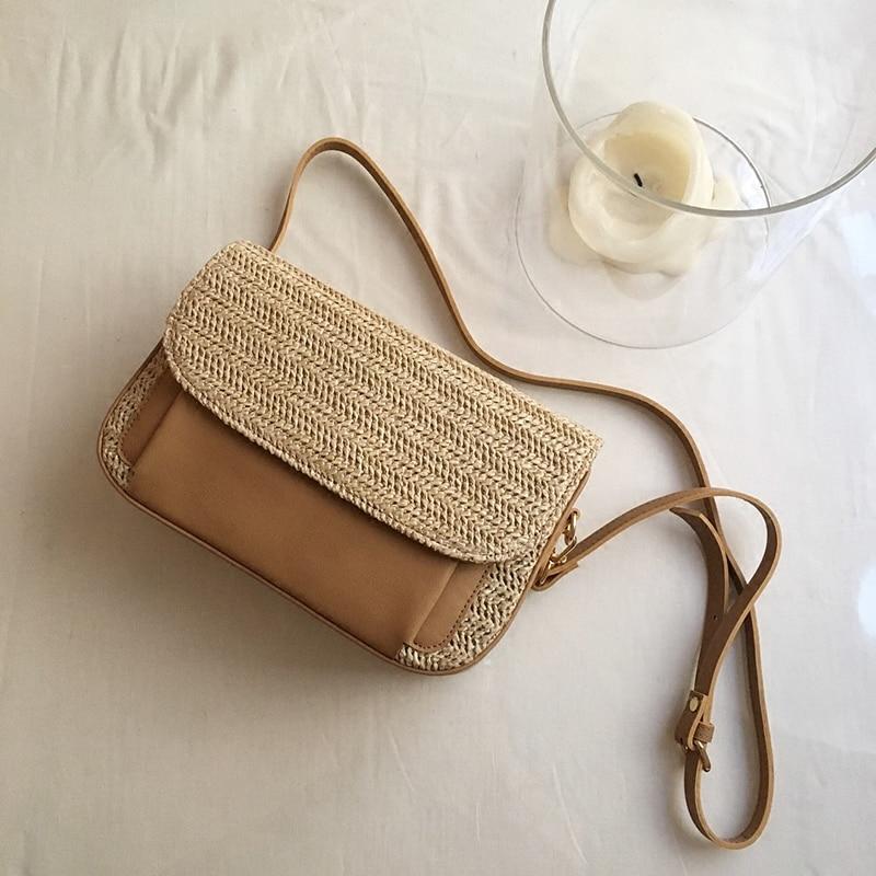 2018 femmes sacs couture sacs de paille Bolsa Feminina sacs à bandoulière pour femmes plage sacs à main