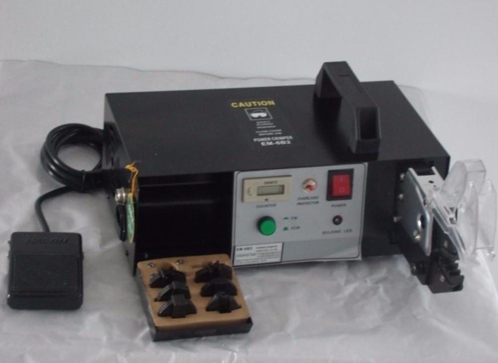 Em 6b2/EM 6B1 Многофункциональный Электрический обжимной Инструменты машины для обжима щипцы плоскогубцы + 7 сменными die Наборы для ухода за коже