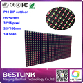 P10 из светодиодов дисплей scrren из светодиодов сообщение вывеска p10 dip-346 красный / зеленый двухцветный жк-модуль 320 * 160 мм электронные из светодиодов бегущая строка