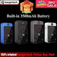Original Kangertech Kanger Pollex Box Mod 230W Vape Mod Built in 3500mAh Battery 2.4 inch Touch Screen for 510 Thread RTA Tank