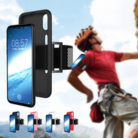 SMSNXY Mobile Phone Arm Band Holder Cases For Iphone7 8plus X Gym Running Jogging Cell Clamp
