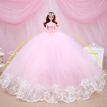 Wedding Dolls Reborn Doll Toys For Girls Baby Reborn Dolls Lol Children's Toys High-end Clothes Dolls Toy Girl Christmas Gifts 22inches reborn dolls kid s toys cute princess diy dolls boy girl brinquedos gifts baby accompany toys enlightenment dolls