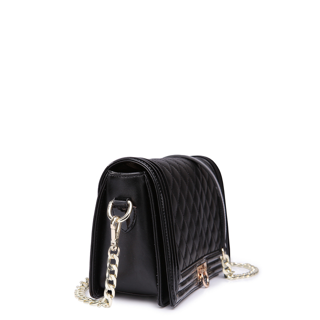 2017 Luxury Cowhide Genuine Leather Women Clutch HandBag Diamond Lattice Grid Quilted Shoulder Bag Elegant Evening Flap Bags