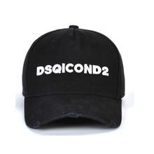 High Quality DSQICOND2 Cotton Casquette Baseball Cap Men Women Black White Dad Hats Gorra Beisbol