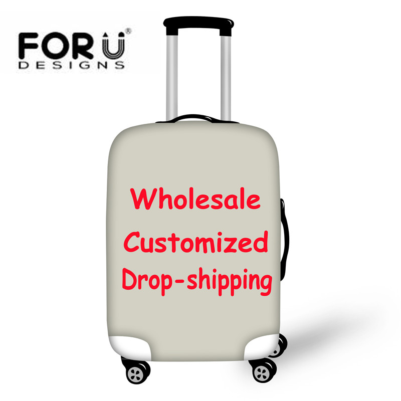 FORUDESIGNS Wholesale Luggage Protective Cover,Customized Suitcase Covers For 18-28 Case,Drop Shipping Travel Accessories Covers
