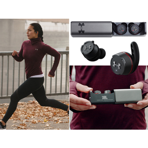 Image 5 - Jbl Ua Flash Tuur Draadloze Bluetooth Sport Oordopjes Waterdicht Running Hifi Hoofdtelefoon Met Lading Doos Handsfree Bellen Met Mic