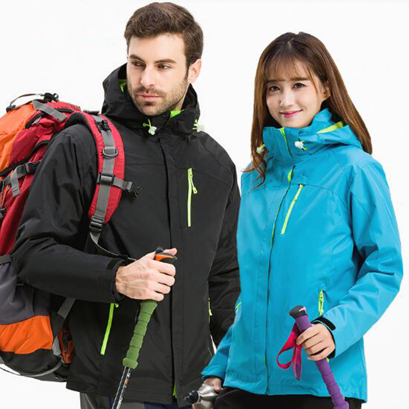 Outdoor Men Women Winter Camping Hiking Jackets Coat Softshell Fleece Waterproof Warm Thermal Windproof Trekking Skiing