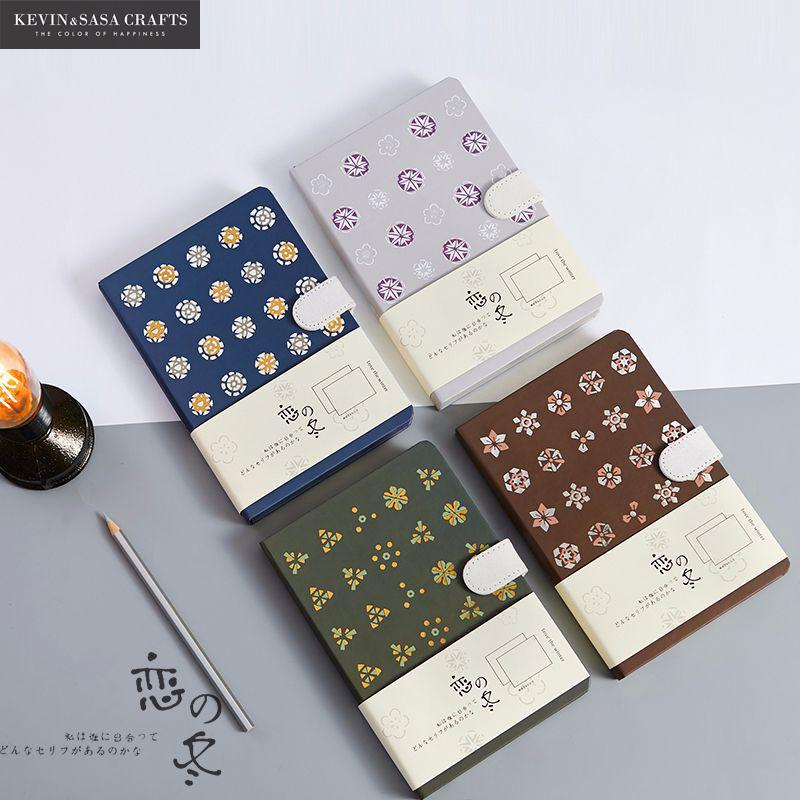 Vintage Notebook Luxury Printing 128 Sheets 2018 Planner Sketchbook Diary Note Book Quality Journal Stationery School Tools flower notebook luxury 144 sheets vintage planner sketchbook diary note book office journal stationery school supplies students