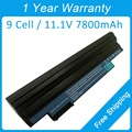 New 9 cell laptop battery for acer Aspire One 360 522 722 D255 D257 D260 E100 D270 happy AL10A31 AK.003BT.071 BT.00303.022