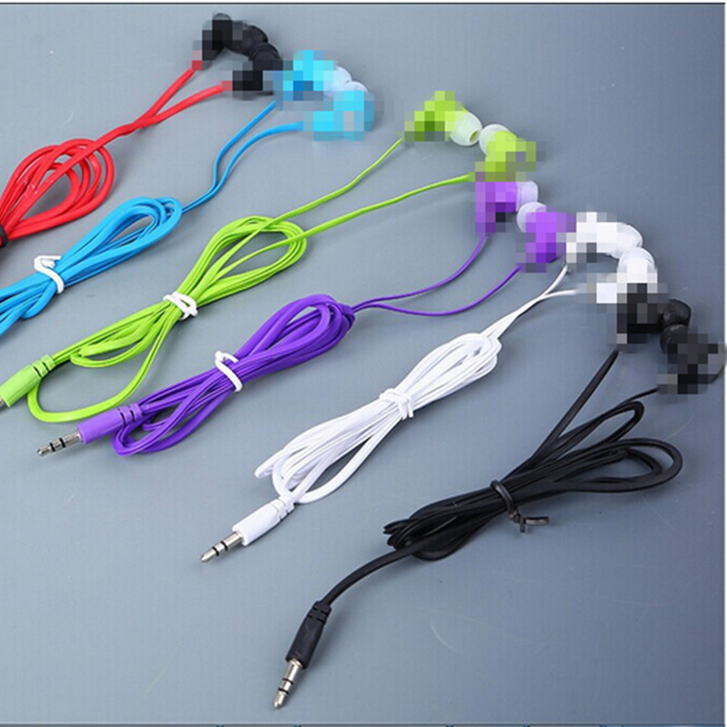 MOONBIFFY Hot Sale 3.5mm Earphones Headsets Good Quality Stereo Earbuds for mobile phone MP3 MP4