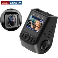 Conkim Auto Camera Pro Super Condensator 1080 P Full HD Dvr GPS g-sensor Novatek 96650 135 Graden Auto Dash Cam Recorder A118C
