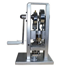 Manual Single punch tablet press/ pill press machine / pill making / (lightest type) TDP-0 /hand-operated / mini type 20KG sale tdp 1 5 0 5 9mm 9 5mm sun polygon rectangle stamping die mold pill press molds for punch tablet press machine