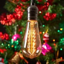 st64 220v decorative filament bulb lighting bombilla Incandescent light bulb led 40w bulbs e27 pendant lamp vintage edison bulb 4w e27 220v filament led bulb lamp indoor lighting 40w to replace 40w incandescent ce