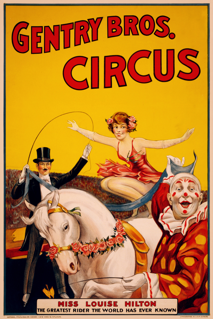 Online buy wholesale vintage circus poster from china for Circus posters free