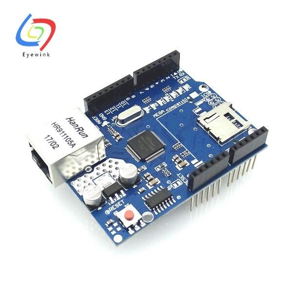 10pcs EYEWINK UNO Shield Ethernet Shield W5100 R3 Development board for arduino