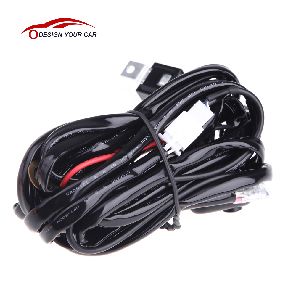 car-styling 40Am Relay Switch Wire Group With 2Sets Power Connectors for Offroad ATV Jeep  sc 1 st  AliExpress.com : jeep wiring connectors - yogabreezes.com