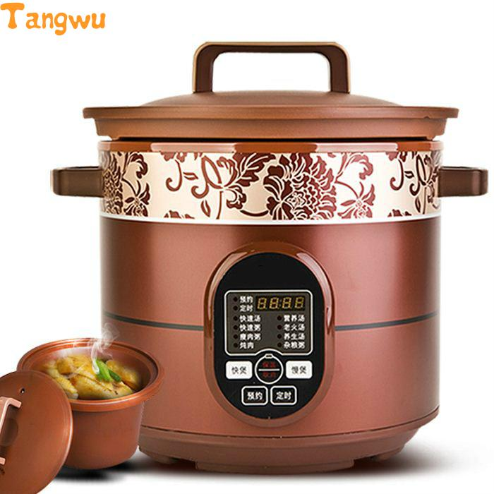 Free shipping Parts The timing of thehousehold electri cstew slow cooker Slow Cookers|cooker box|cooker pot|shipping eggs - title=