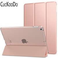 Ultra Slim Lightweight Smart Shell Standing Cover With Auto Wake Sleep Feature For Apple All New