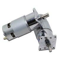 775 DC Gear Motor 12V 24V high power high torque motor slow forward and reverse speed small motor