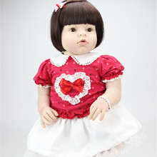 Fashion 28 Inches 70cm Large Size Realistic Silicone Reborn Baby Dolls Girls Accompany Reborn Babies Vinyl Lifelike Reborn Dolls