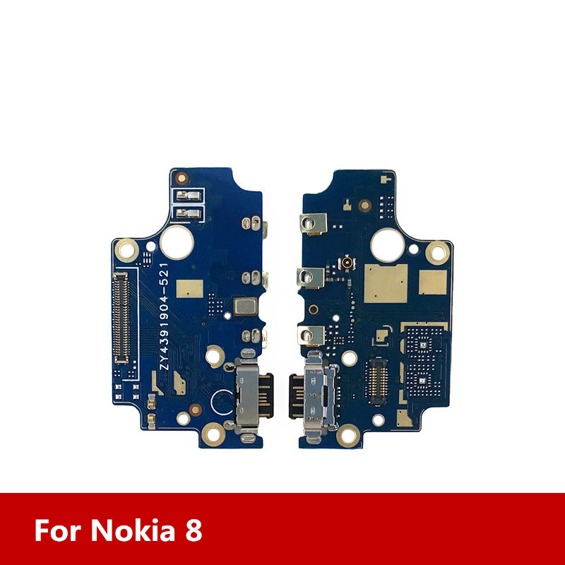 For Nokia 8 USB Charging Dock Port+Microphone For Nokia 8 General Charging Modul Data Interface Free Shipping