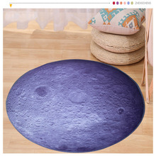 Universe Outer Space Themed  Children Round Play Carpet rug Kids galaxy Bedroom Carpets Computer Chair Hanging Basket Puzzle Mat